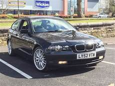 2003 Bmw 316ti Compact Automatic Black Leather M Sport