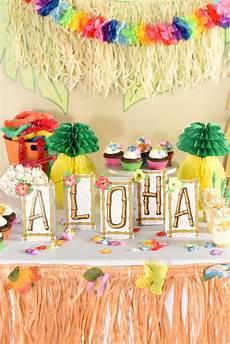 Hawaiian Theme Decoration Ideas hawaiian luau ideas that are easy and squared