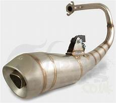 stainless steel exhaust speedfight 2 50cc pedparts uk