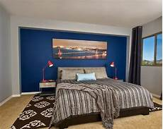 Bedroom Decor Ideas With Blue Walls by Blue Accent Wall Home Design Ideas Pictures Remodel And