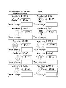 generic coin and dollar worksheets enchanted learning