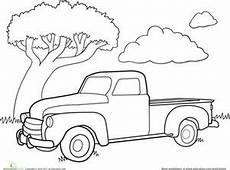 car coloring pages for preschoolers 16492 color a car classic truck truck coloring pages cars coloring pages classic trucks
