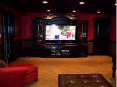 and black media room in 2019 living room entertainment center black rooms home theater