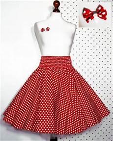 roter rock weiße punkte petticoat schnittmuster kostenlos kleider