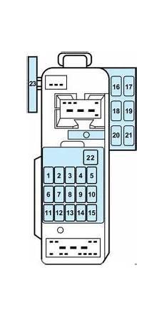 mercury tracer 1997 1999 fuse box diagram auto genius
