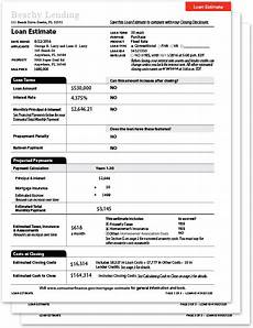 loan estimate form setco services l l c trid