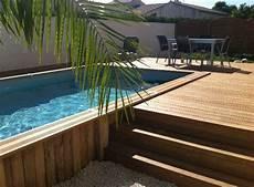 comment installer une piscine semi enterrée plein d id 233 es de piscines semi enterr 233 es