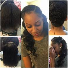 partial sew in homecoming hairstyles pinterest