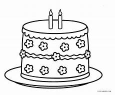 birthday cake printable worksheets 20255 free printable birthday cake coloring pages for cool2bkids