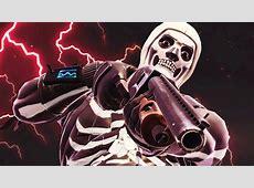 Skull Trooper 4K 8K HD Fortnite Battle Royale Wallpaper
