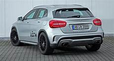 mercedes gla tuning vath adds some to mercedes gla 200 carscoops