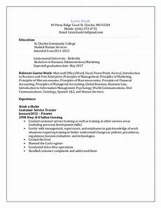 college student resume expected graduation date best