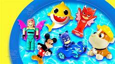 Pj Mask Malvorlagen Roblox Learn Colors And Characters Roblox Paw Patrol Baby Shark