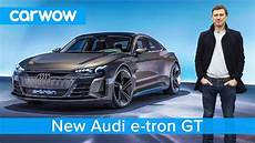 new audi e gt is this ev a tesla model s beater