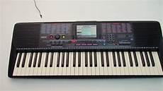 Yamaha Psr 220 Portable Electronic Keyboard Piano Testing
