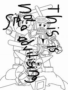 Lego Wars Malvorlagen Free Lego Wars Characters Coloring Page Print