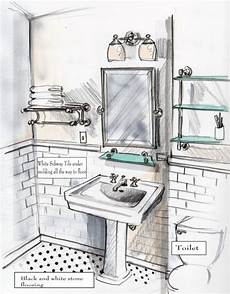 Bathroom Ideas Drawing by Bathroom Sketch House Beautiful Drawing Interior