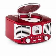 poste de radio vintage rcd320 retro cd player fm aux