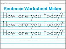 handwriting worksheets maker 21286 miss kindergarten lessons from the schoolhouse free handwriting worksheets