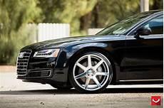audi a8 custom wheels vossen cv 7 22x10 5 et tire size