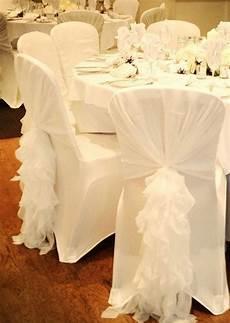 ruffled chair sash chiffon chair sash chair hood by vowwowdecor wedding wedding chair sashes