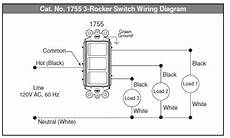 electrical how to wire multi control rocker switch home improvement stack exchange
