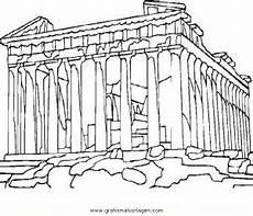 Kinder Malvorlagen Griechenland Ausmalbilder Griechenland Akropolis