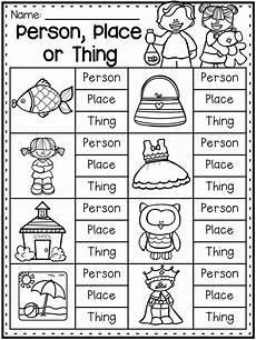 grammar worksheet packet nouns adjectives and verbs worksheets nouns worksheet nouns first