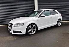 Audi A3 2011 - 2011 audi a3 2 0 tdi 138 s line black edition 3 door white