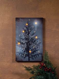 radiance lighted canvas begins with