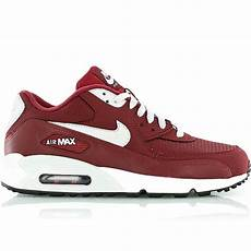 nike air max 90 essential retro sneaker rot grau