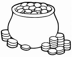Malvorlagen Gold Gold Coin Page Coloring Pages