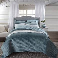 velvet embossed 3 pc quilt bedding brylane home