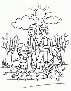 happy fall day coloring pages for seasons autumn