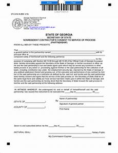 form st c 214 10 nonresident contractors consent to service of process partnership rev 3 13