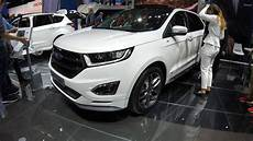 Ford Edge St Line - ford edge st line suv white colour walkaround