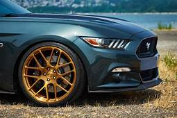H&ampRs New Mustang GT Premium Fastback Is Equipped With The