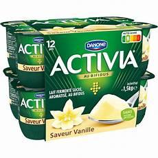 yaourt au bifidus yaourts saveur vanille activia pas cher au meilleur prix