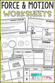 science worksheets on and motion 12334 and motion worksheets motion teaching science 4th grade science
