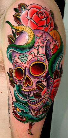 sugar skull tattoo top 20 sugar skull designs in the world