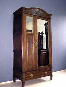 jugendstil kleiderschrank antik dielenschrank spiegel