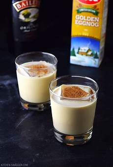 eggnog holiday cocktail recipe kitchen swagger
