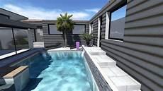 extension maison v 233 randa et piscine
