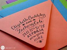 creative ways to address wedding invitations cool way to sign your address on an envelope elizabeth