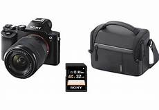 Sony Systemkamera Alpha 7 Kb Kit Tasche Speicherkarte