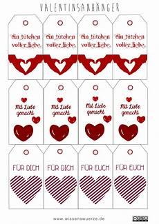 valentinstag spezial bag tags und geschenkanh 228 nger