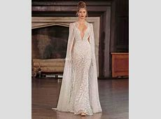 Real Photo Sexy Wedding Dresses With Cape 2017 Berta