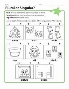 worksheets on singular and plural nouns for kindergarten kindergarten plural nouns worksheets education com