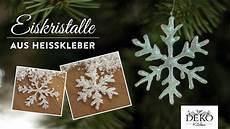 weihnachtssterne selber basteln weihnachtsdeko basteln funkelnde eiskristalle aus