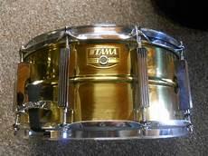 tama brass snare tama 8 x 14 brass snare